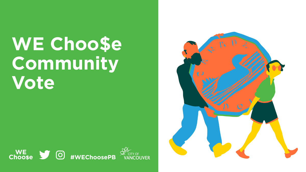 WEChoose participatory budgeting in Vancouver, BC, Canada