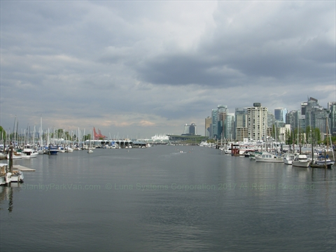 Coal Harbour, Vancouver, British Columbia Canada