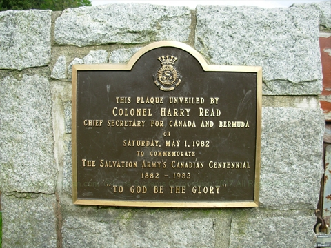 plaque at Hallelujah Point in Stanley Park, Vancouver, B.C., Canada
