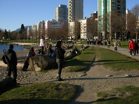 English Bay Seawall