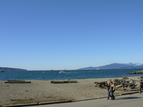 English Bay, Vancouver, British Columbia Canada
