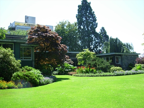 Vancouver Parks Board Office in Stanley Park, Vancouver, B.C., Canada
