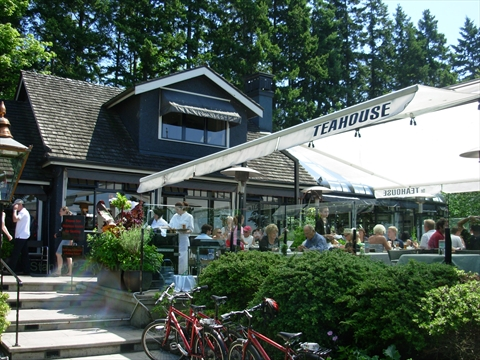 Teahouse Restaurant in Stanley Park