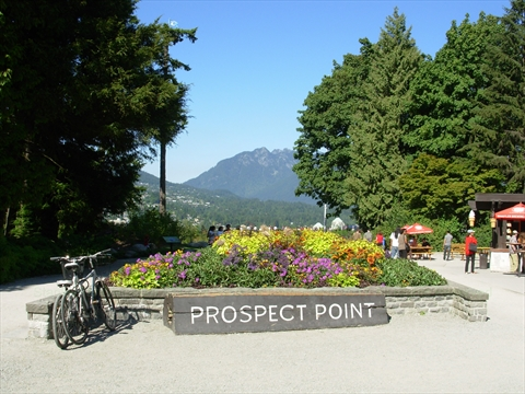 Prospect Point in Stanley Park
