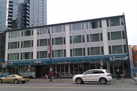 The Burrard Hotel near Stanley Park, Vancouver, B.C., Canada