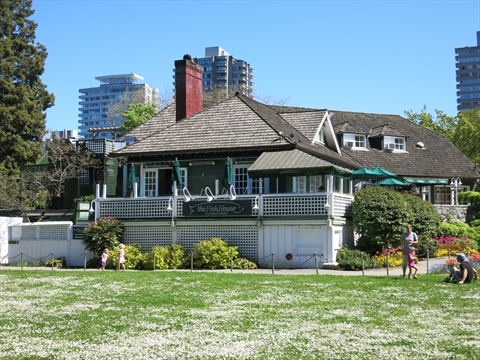 Fish House in Stanley Park, Vancouver, B.C., Canada