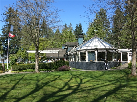 Teahouse Restaurant in Stanley Park, Vancouver, British Columbia Canada