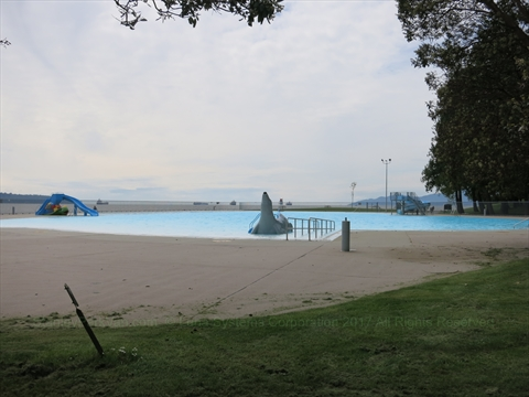 Second Beach Outdoor Pool in Stanley Park
