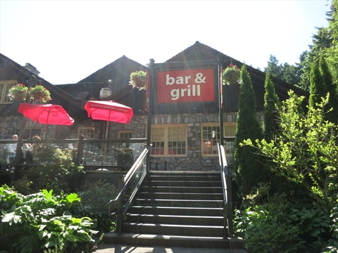 Stanley's Bar and Grill in Stanley Park, Vancouver, B.C., Canada