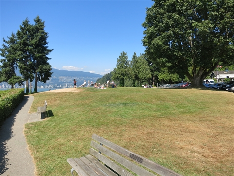 Ferguson Point in Stanley Park, Vancouver, BC, Canada