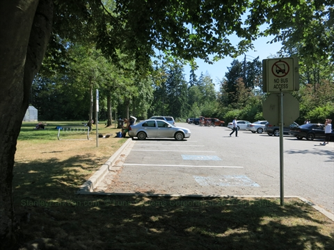 Prospect Point Parking Lot