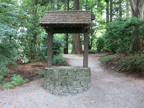 Wishing Well in Stanley Park, Vancouver, B.C., Canada