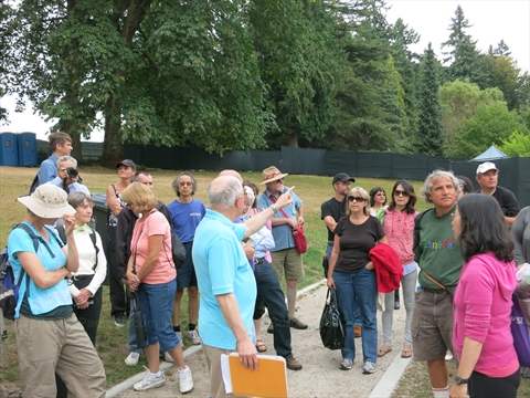 Walking Tour in Stanley Park, Vancouver, B.C., Canada