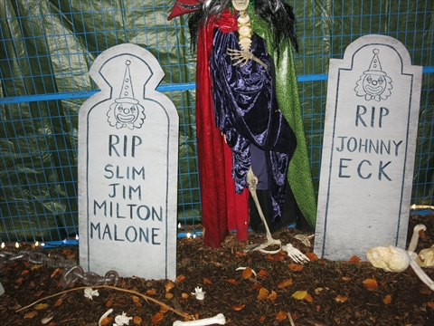 2014 Halloween Ghost Train in Stanley Park, Vancouver, BC, Canada