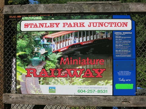 Stanley Park Junction in Stanley Park, Vancouver, B.C., Canada
