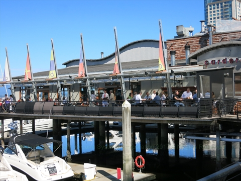 Cardero's Restaurant and Marine Pub at Coal Harbour, Vancouver, BC, Canada