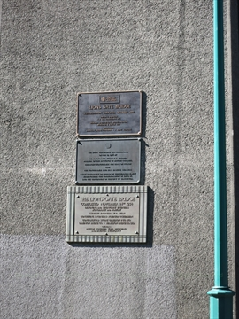 Lions Gate Bridge plaques