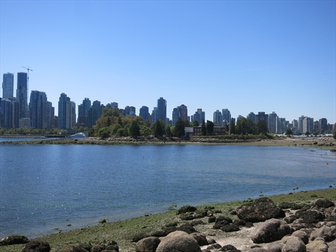 Deadman's Island in Stanley Park, Vancouver, B.C., Canada