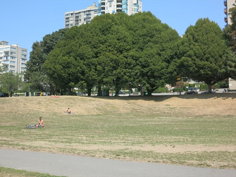 Sunset Beach Park, Vancouver, B.C., Canada