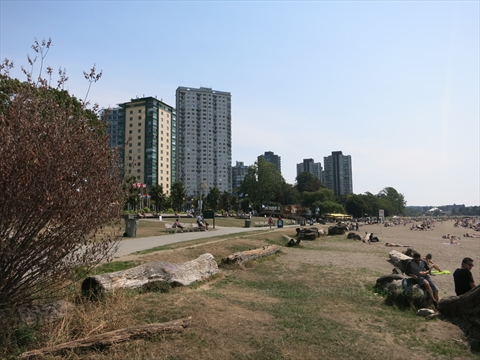English Bay Beach Vancouver B C Canada