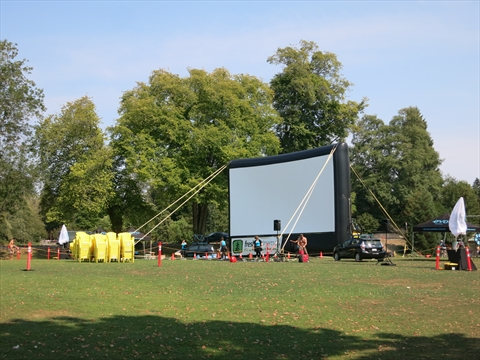 Weekly Movies in Stanley Park, Vancouver, B.C., Canada