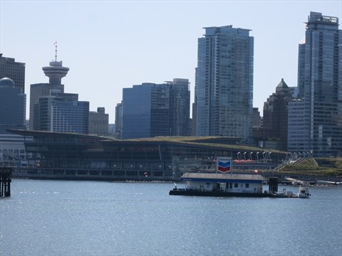 Vancouver Trade and Convention Centre in Coal Harbour, Vancouver, BC, Canada