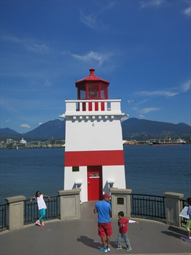 Brockton Point in Stanley Park, Vancouver, B.C., Canada