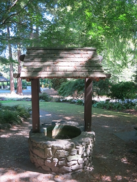 Wishing Well in Stanley Park