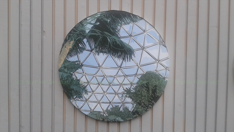 Portal Mural - the interior of the Bloedel Conservatory