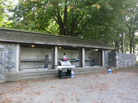 cooking facilities at Second Beach Reservable Picnic Area in Stanley Park
