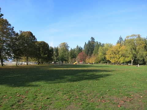 Ceperley Park in Stanley Park, Vancouver, BC, Canada