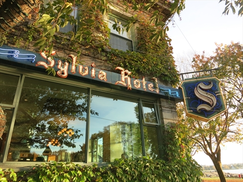 Syliva Hotel at English Bay, Vancouver, B.C., Canada