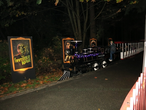 2015 Halloween Ghost Train in Stanley Park, Vancouver, BC, Canada