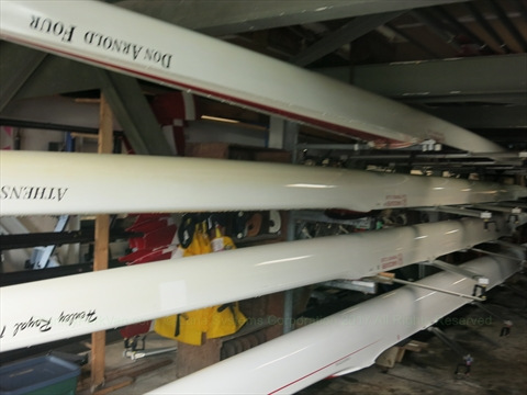 inside the Vancouver Rowing Club