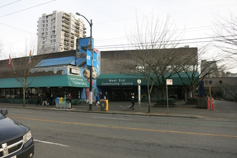West End Community Centre, Vancouver, B.C., Canada