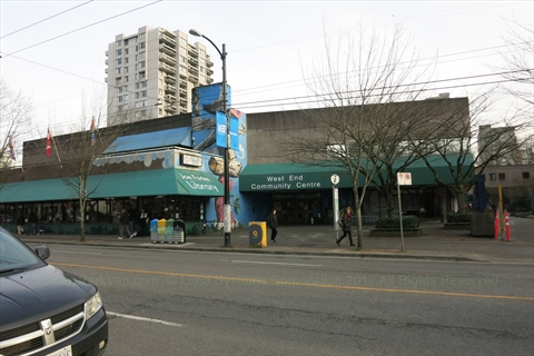 West End Community Centre, Vancouver, BC, Canada