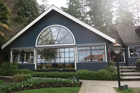Teahouse Restaurant in Stanley Park, Vancouver, B.C., Canada