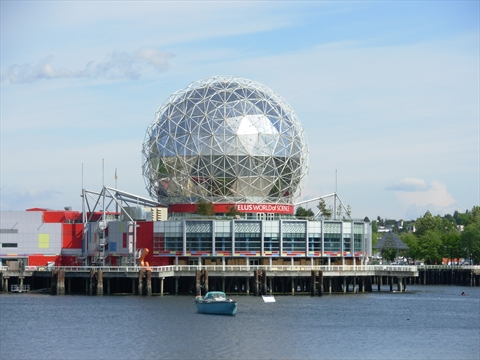 ScienceWorld at Telus World of Science at False Creek, Vancouver, BC, Canada