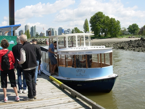 False Creek Ferry, Vancouver, BC, Canada