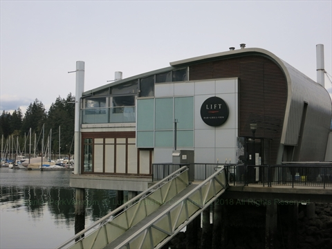 Lift Bar and Grill at Coal Harbour, Vancouver, BC, Canada