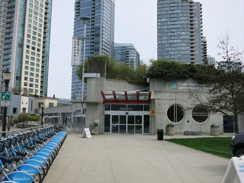 Coal Harbour Community Centre in Coal Harbour, Vancouver, BC, Canada