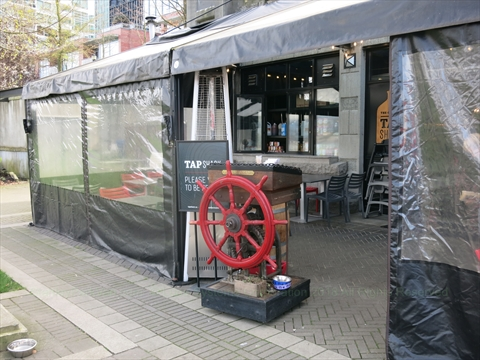 Tapshack Eatery -Coal Harbour at Coal Harbour, Vancouver, BC, Canada