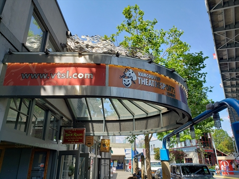 TheatreSports on Granville Island in False Creek, Vancouver, BC, Canada