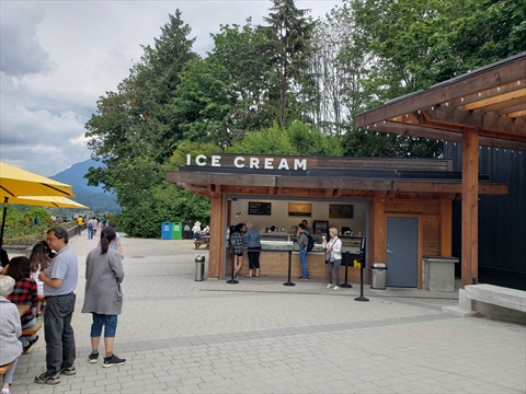 Prospect Point Cafe in Stanley Park, Vancouver, B.C., Canada