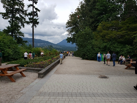 Prospect Point in Stanley Park, Vancouver, BC, Canada