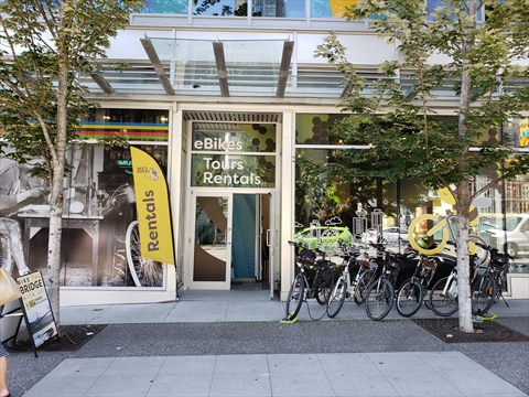 Bee's Knees eBike rentals and tours, Vancouver, BC, Canada