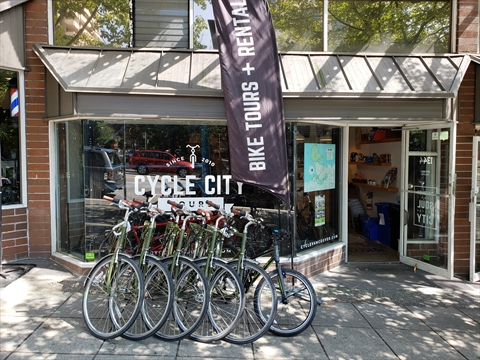 Cycle City, Vancouver, BC, Canada