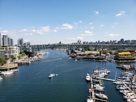 False Creek, Vancouver, British Columbia Canada