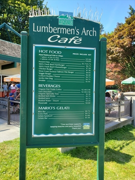 Lumermens' Arch Cafe 2019 prices